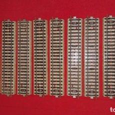 Ricambi e pezzi: 10 VÍAS DE TREN METÁLICAS MÄRKLIN REF. 5106- 1/1. Lote 139995086