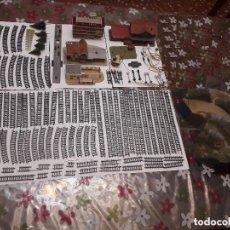 Repuestos y piezas: 06-00056 PACK VARIOS ARTICULOS MAQUETA TREN -ESCALA N. Lote 137936398