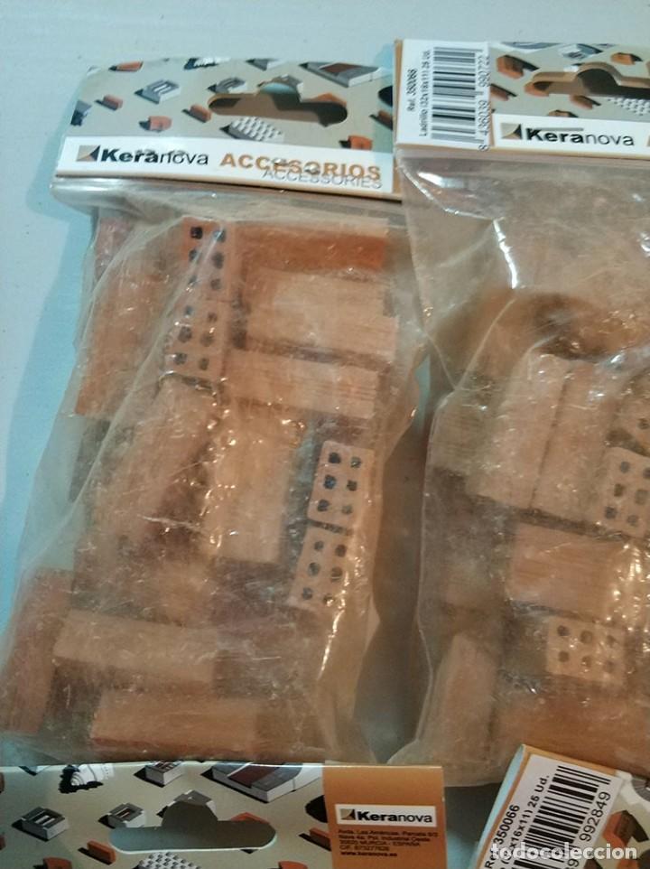 Repuestos y piezas: Keranova 350066 lote de 6 bolsas de 25 ladrillos escala 1:10 total 150 ladrillos maqueta - Foto 2 - 150488494