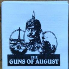 Repuestos y piezas: INSTRUCCCIONES GUNS OF AUGUST. TRADUCCIÓN ESPAÑOL. Lote 154506836