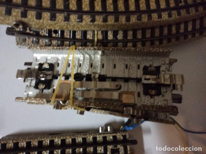 Repuestos y piezas: lote de unas 56 vías en escala h0 - Foto 2 - 158319998