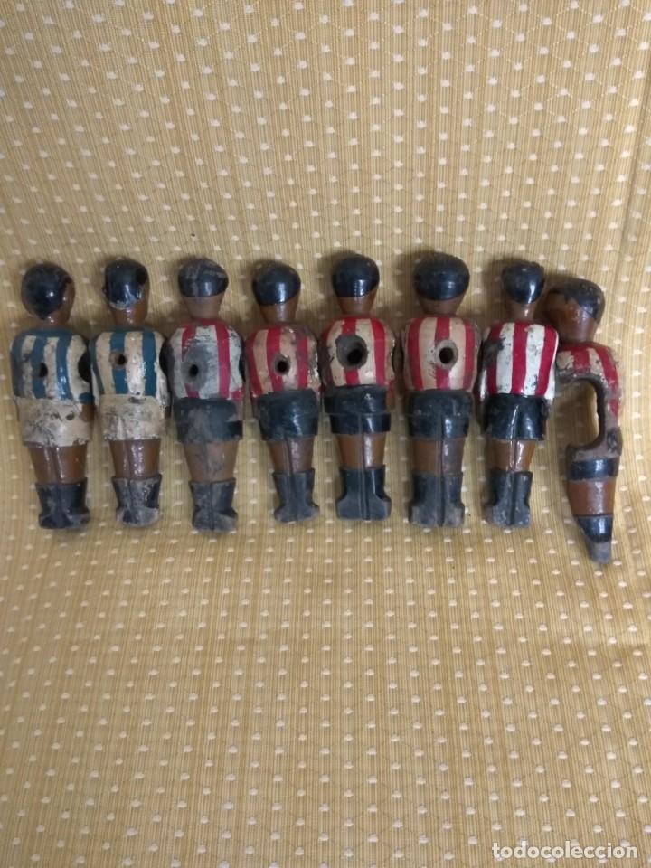 Repuestos y piezas: 8 MUÑECOS DE FUTBOLIN ANTIGUOS - Foto 6 - 164744866