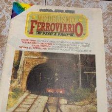 Repuestos y piezas: ANTIGUA REVISTA MODELISMO FERROVIARIO NUMERO 2 FICHA TECNICA LOCOMOTORAS ELECTRICAS SERIE 250 Y MAS.. Lote 169606096