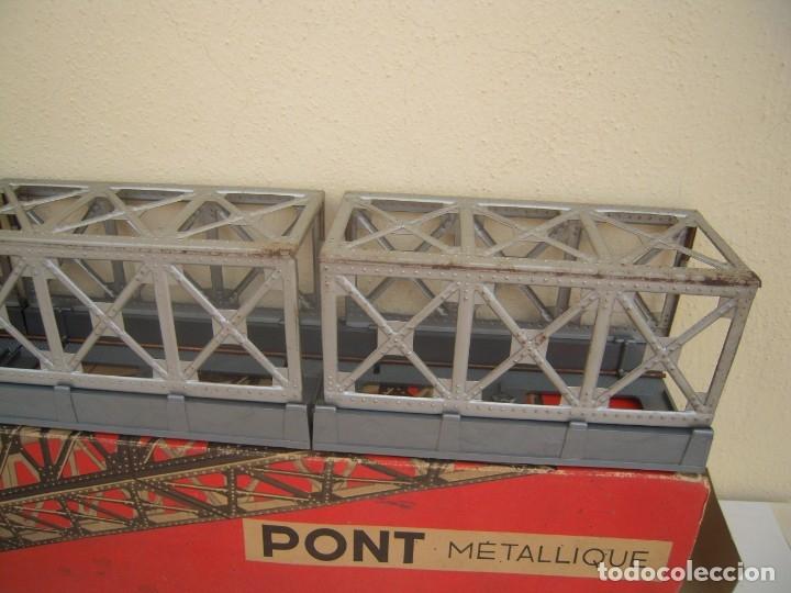 Repuestos y piezas: puente metalico antiguo jouef ref 672 - Foto 3 - 174174184