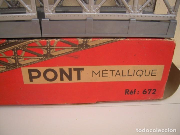 Repuestos y piezas: puente metalico antiguo jouef ref 672 - Foto 4 - 174174184