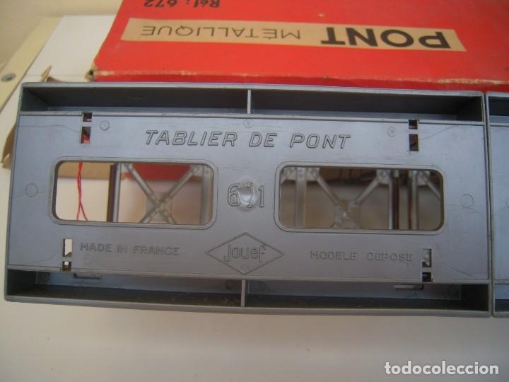 Repuestos y piezas: puente metalico antiguo jouef ref 672 - Foto 6 - 174174184