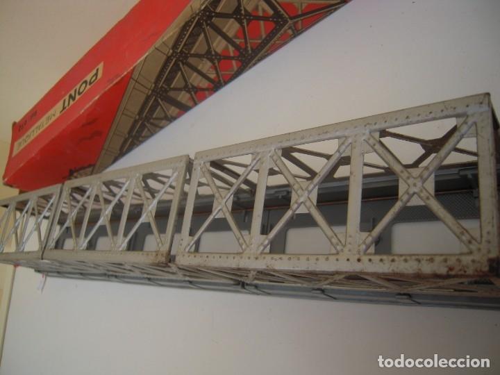 Repuestos y piezas: puente metalico antiguo jouef ref 672 - Foto 7 - 174174184