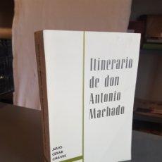 Repuestos y piezas: ITINERARIO DE DON ANTONIO MACHADO. JULIO CESAR CHAVES. EDITORA NACIONAL. 1968.. Lote 175162899