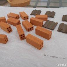 Repuestos y piezas: LADRILLOS Y TEJAS DE ARCILLA. Lote 180178787