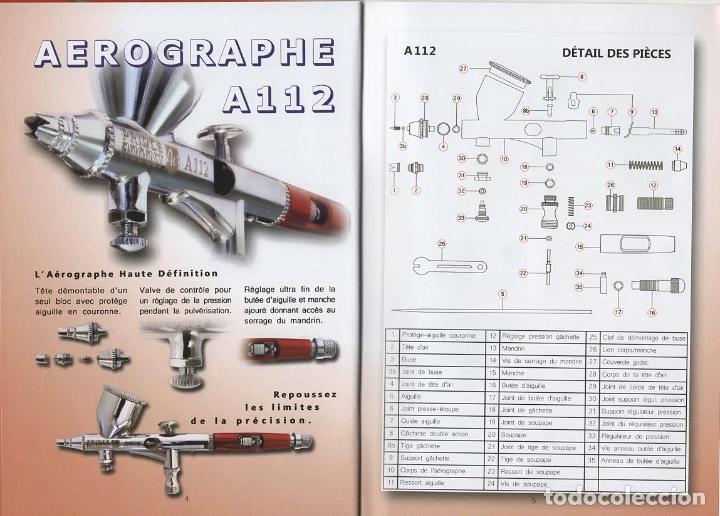 Repuestos y piezas: PACK AEROGRAFO + COMPRESOR PRINCE AUGUST - Foto 2 - 187447176