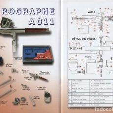 Repuestos y piezas: AERÓGRAFO PRINCE AUGUST A 011.. Lote 187447652