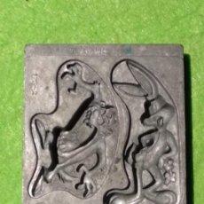 Repuestos y piezas: MOLDE METÁLICO - 1995 WARNER BROS - TOYMAX 175-2 - BUGS BUNNY Y TAZ - VER FOTOS. Lote 190642958