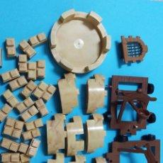 Repuestos y piezas: LOTE EXIN CASTILLOS ? CATAPULTA TORRE JUGUETE VINTAGE PIEZAS. Lote 192503251