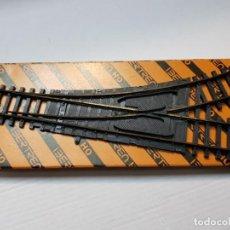 Repuestos y piezas: IBERTREN H0 CAMBIO DE VIAS MANUAL IZQUIERDO EN BLISTER. Lote 194995112