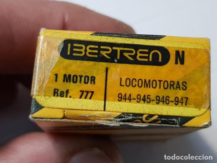 Repuestos y piezas: Ibertren Motor Locomotora escala N en caja original - Foto 2 - 195011761