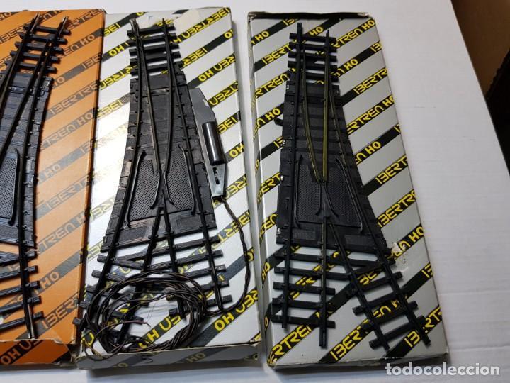 Repuestos y piezas: Ibertren Cambios de via manual y eléctrico lote 5 en blister - Foto 2 - 195237446