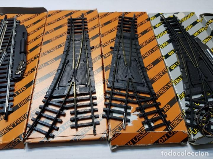 Repuestos y piezas: Ibertren Cambios de via manual y eléctrico lote 5 en blister - Foto 3 - 195237446