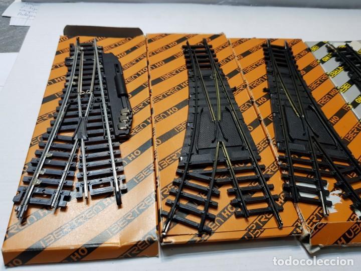Repuestos y piezas: Ibertren Cambios de via manual y eléctrico lote 5 en blister - Foto 4 - 195237446