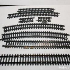 Repuestos y piezas: LIMA Y ROCO LOTE VIAS ESCALA H0 LOTE 8 . Lote 195425660