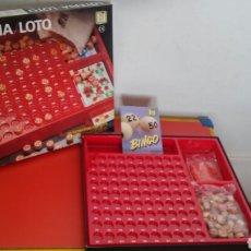 Peças sobresselentes e peças: LOTERÍA BINGO FICHAS MADERA INCOMPLETO.CHICOS 90S.SIN USO.VER ESTADO.. Lote 208022170