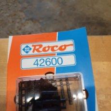 Pièces détachées et composants: TRAVIESAS TERMINALES DE ROCO 42600, ROCO LINE ESCALA H0, NUEVO EN SU EMBALAJE ORIGINAL. Lote 212401292