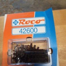 Pièces détachées et composants: TRAVIESAS TERMINALES DE ROCO 42600, ROCO LINE ESCALA H0, NUEVO EN SU EMBALAJE ORIGINAL. Lote 212401641