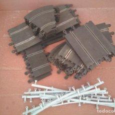 Repuestos y piezas: LOTE DE TRAMOS CLASICOS DE SCALEXTRIC. Lote 212860255