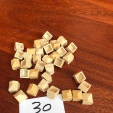 Repuestos y piezas: 30 PIEZAS EXIN CASTILLOS DE UNO CON RIBETE. Lote 214549522
