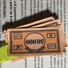 Pièces détachées et composants: LOTE BILLETES MONOPOLY.. Lote 219244755