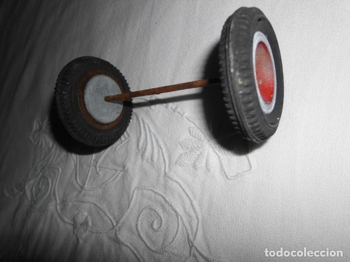 Repuestos y piezas: Antiguas ruedas de repuesto para coche de juguete - Foto 3 - 222936355