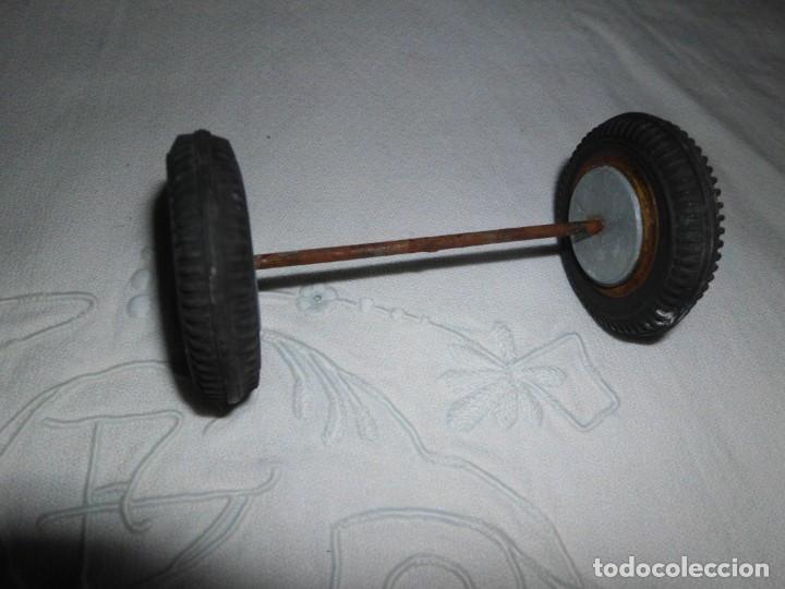 Repuestos y piezas: Antiguas ruedas de repuesto para coche de juguete - Foto 4 - 222936355