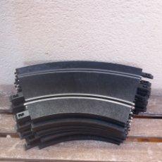Ricambi e pezzi: 10 TRAMOS CURVA DE 30 CM CIRCUITO NINCO. Lote 225961085