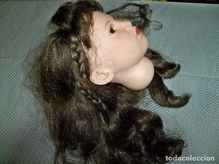 Repuestos y piezas: Cabeza de muñeca sin uso, fabricación Española - Foto 6 - 277695798