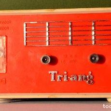 Repuestos y piezas: TRANSFORMADOR SCALEXTRIX TRI-ANG TR-1 12V 1,5 A VINTAGE. Lote 230978135