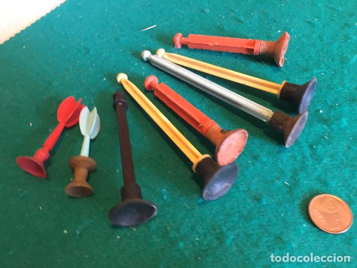 Repuestos y piezas: Flechas de plástico y goma antiguas - Foto 4 - 237005975