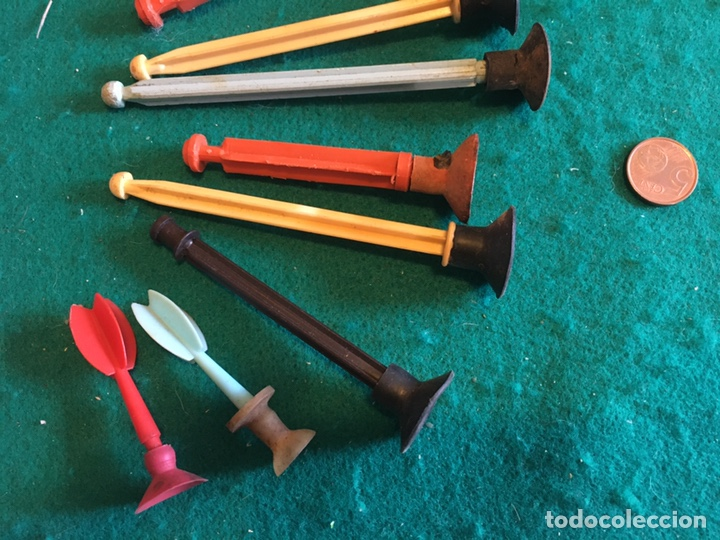 Repuestos y piezas: Flechas de plástico y goma antiguas - Foto 6 - 237005975
