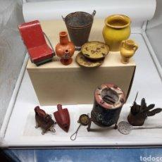 Repuestos y piezas: LOTE DE UTENSILIOS DE COCINA, JUGUETES AÑOS 40. Lote 237372685