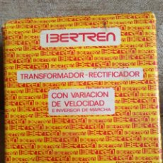 Repuestos y piezas: TRANSFORMADOR RECTIFICADOR REF: 691 IBERTREN. Lote 241664330
