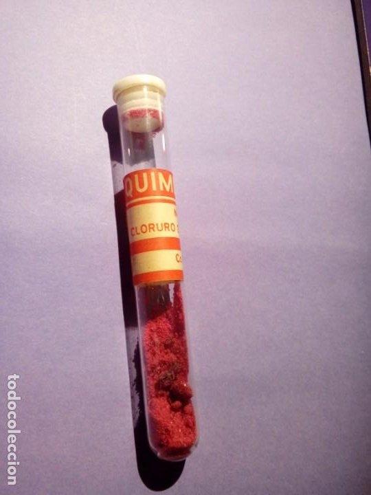 QUIMICEFA CLORURO DE COBALTO TUBO N°1 (Juguetes - Repuestos y Piezas)