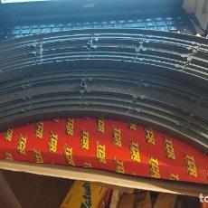 Repuestos y piezas: TCR PAR DE TRAMOS CURVA 90 SIN USAR Y CON SU CAJA ORIGINAL REF.7005. Lote 261137070