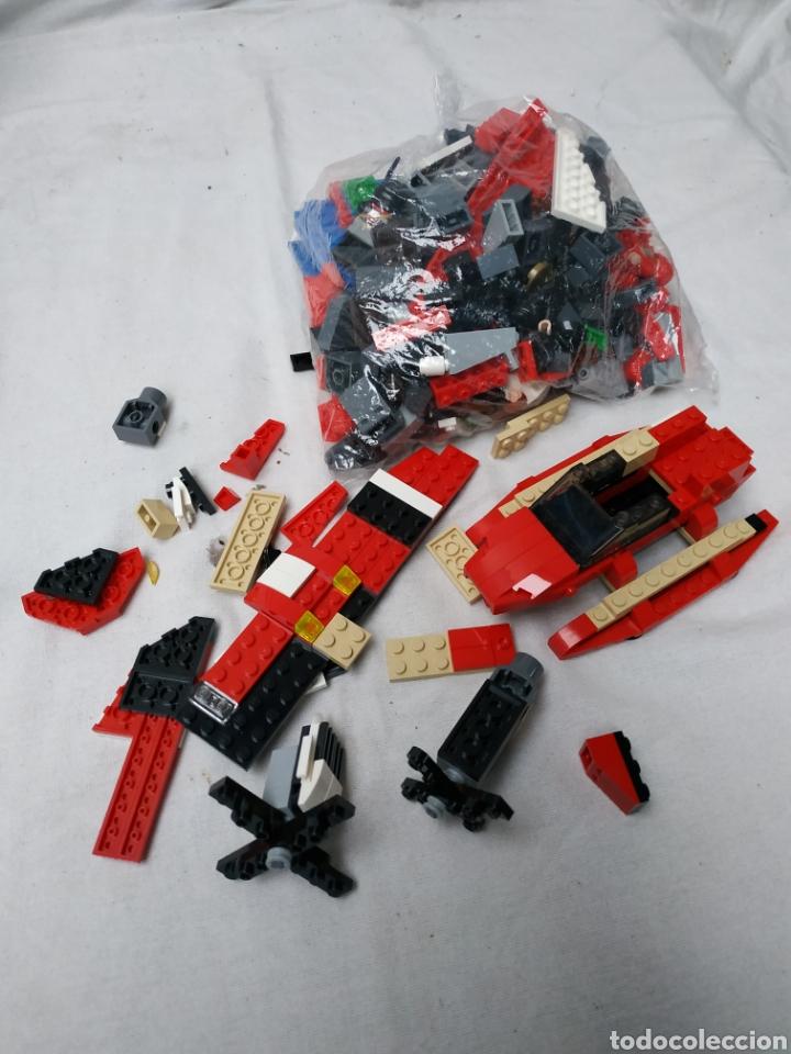 LOTE DE PIEZAS LEGO (Juguetes - Repuestos y Piezas)