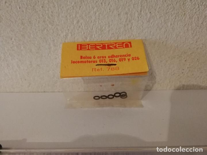 BOLSA DE 6 AROS ADHERENCIA VARIAS - IBERTREN - ESCALA N - LOCOMOTORAS - REF 788 (Juguetes - Repuestos y Piezas)