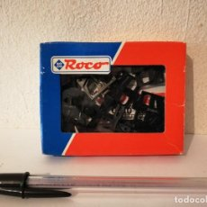 Ricambi e pezzi: PACK COMPLETO 12 PIEZAS RECAMBIO PARA H0 - ROCO - TREN - REF. 40344 - ENGANCHE ACOPLADO. Lote 267140159