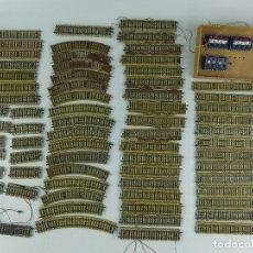 Peças sobresselentes e peças: COLECCION LOTE DE VIAS METALICAS PARA TREN. Lote 275745163