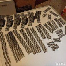 Repuestos y piezas: LOTE DE VÍAS ESCALA H0 LIMA PARA RECAMBIOS. Lote 294008703