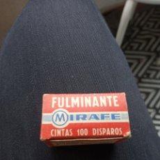 Repuestos y piezas: FULMINANTE MIRAFE CINTAS 100 DISPAROS. Lote 289454678