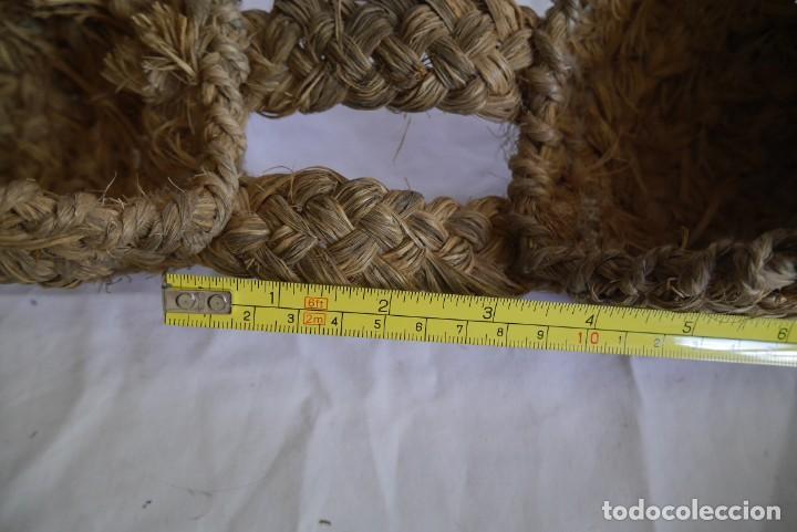 Repuestos y piezas: Alforjas de esparto miniatura para burro de juguete - Foto 8 - 289589928