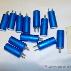 Radios antiguas: CONDENSADO ELECTROLITICO 2000 MICROF 10 V -ALUMINIO-BIANCHI - 12 DISPONIBLES -PRECIO POR UNIDAD. Lote 33579893