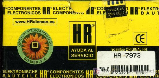 TRANSFORMADOR MAT HR - 7973 (Radios, Gramófonos, Grabadoras y Otros - Repuestos y Lámparas a Válvulas)