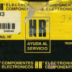 Radios antiguas: TRANSFORMADOR MAT HR - 7733. Lote 26999952